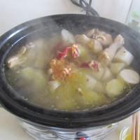 山药鸡汤的做法图解8