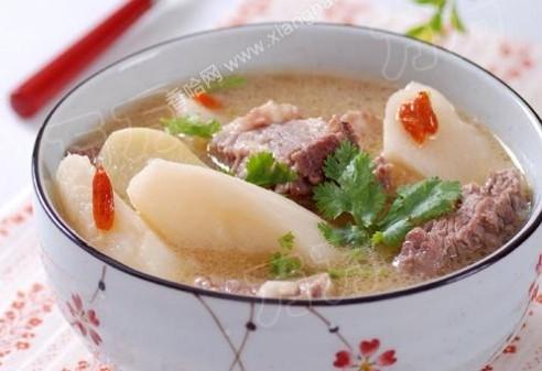 牛肉山药汤的做法大全